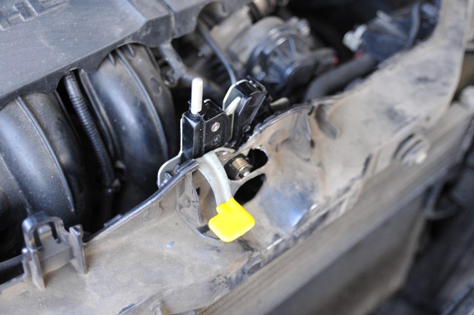 ремонт троса капота на ford s max