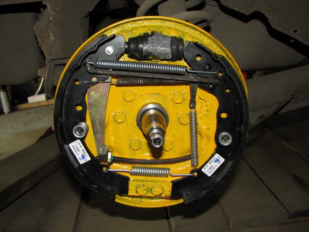 схема тормозной системы ауди 100 турбодизель 2,5