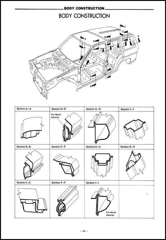 TERRANO WD21 кузовной ремонт