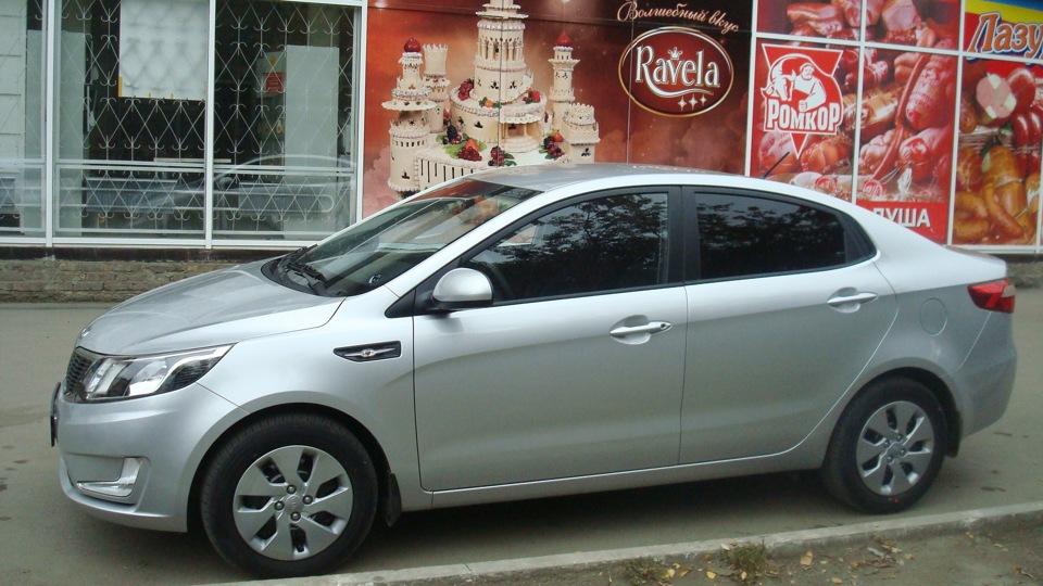 Киа рио седан серый фото