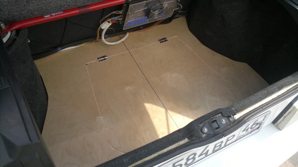 Как сделать багажник на ваз 2114