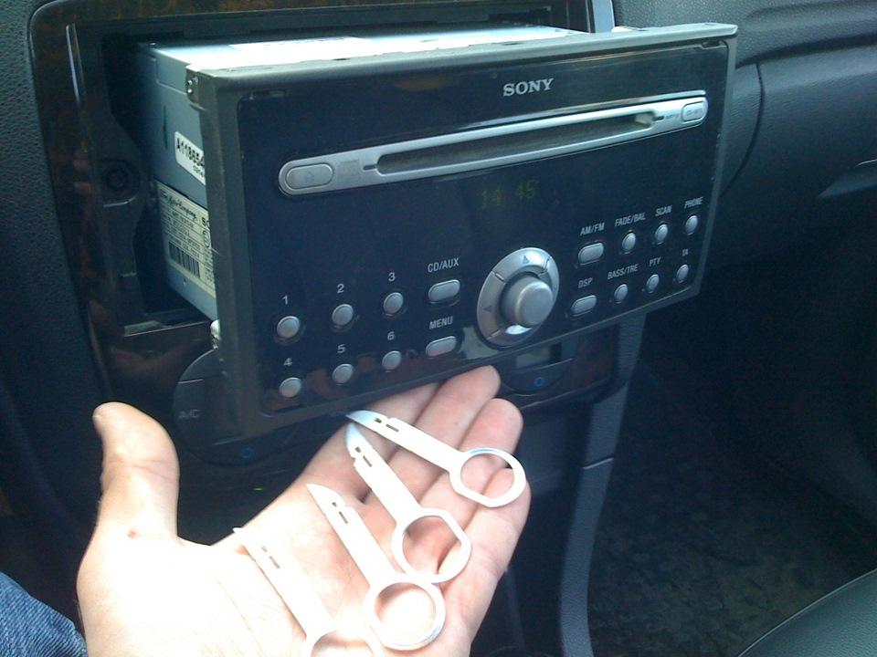 Магнитола сони на форд фокус 2 инструкция