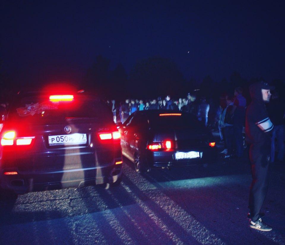 Ночные гонки минет
