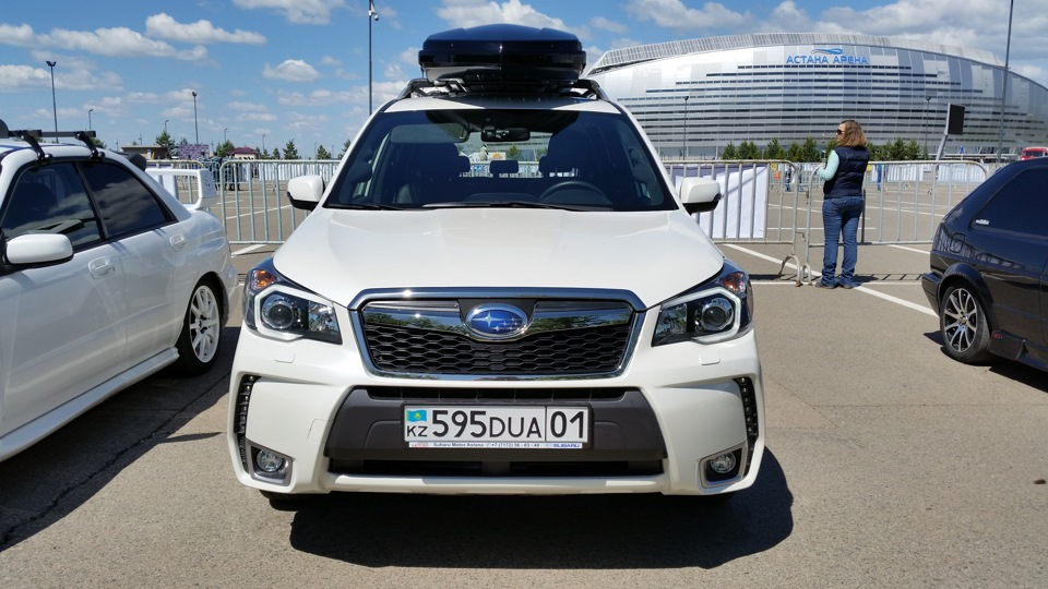 Subaru Forester 2013 (бензин, вариатор) — отзыв владельца ...