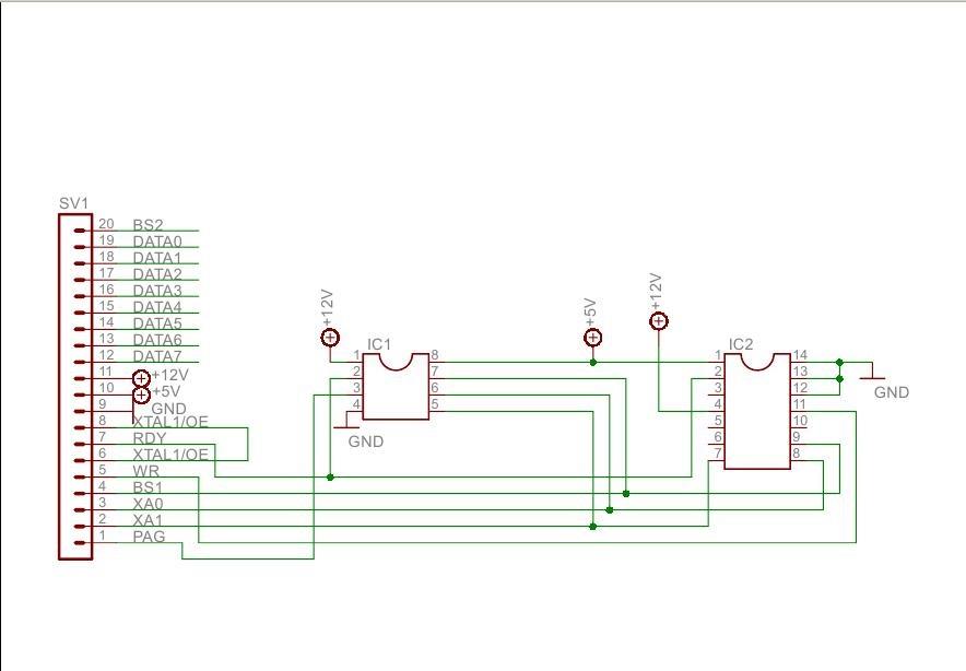 Схема адаптера