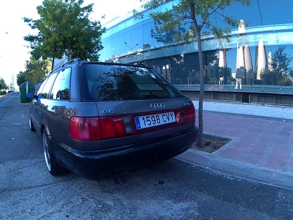 Audi A6 Avant 1.9tdi grande, bajo, pesado y lento de Sevilla 7f44d2as-960