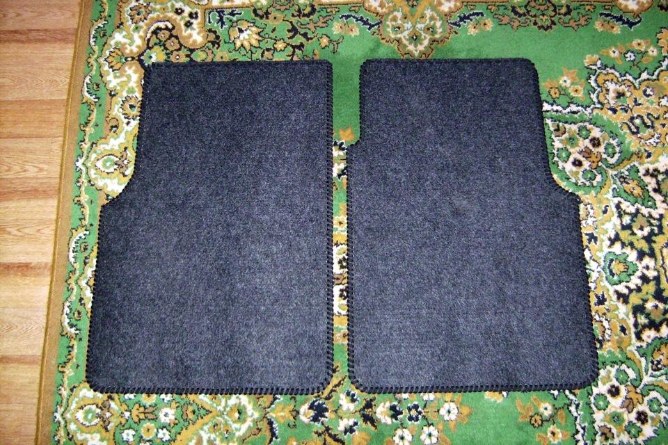Как сделать автомобильные коврики своими руками 47