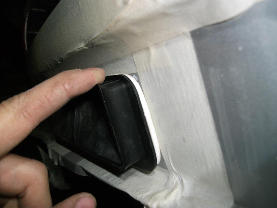 фото заклеил вентиляционные клапана в багажнике плюсы