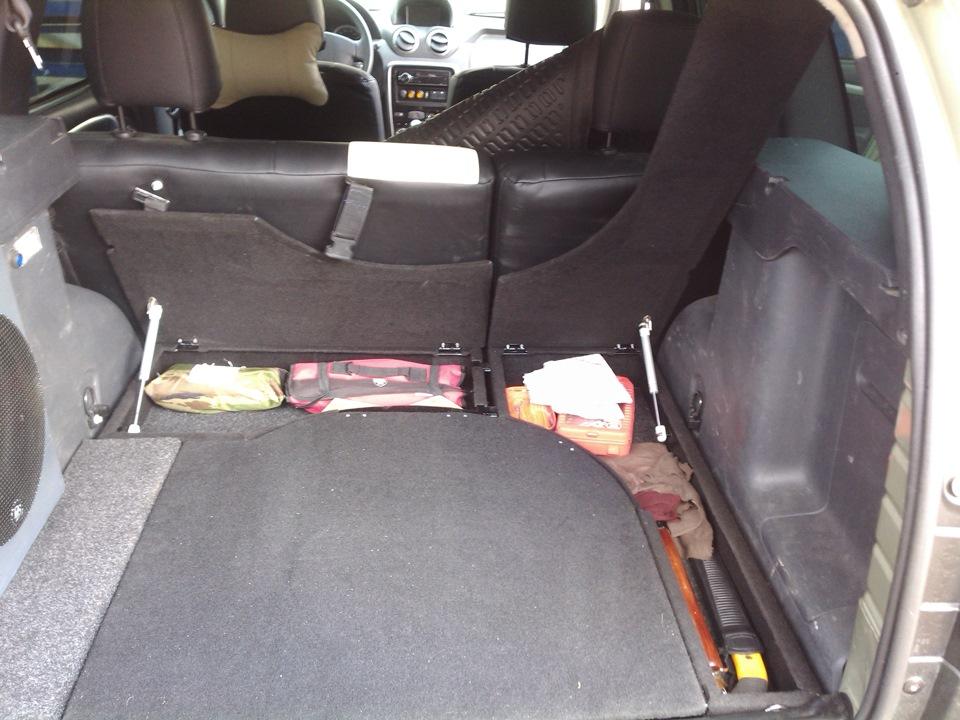 Органайзер в багажник рено логан своими руками 43