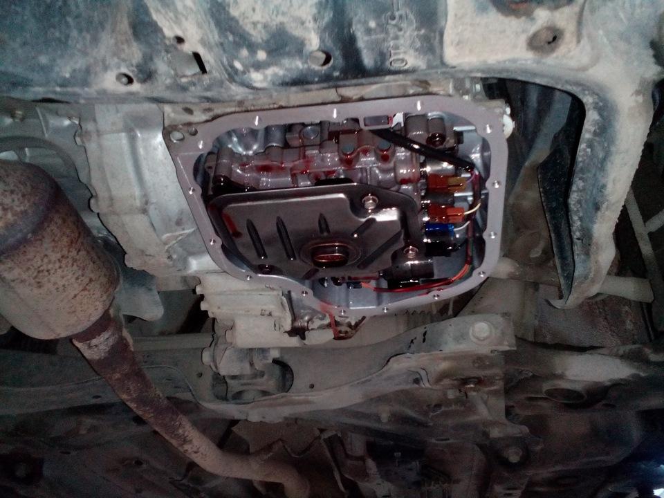 Замена масла в двигателе тойота платц своими руками 80