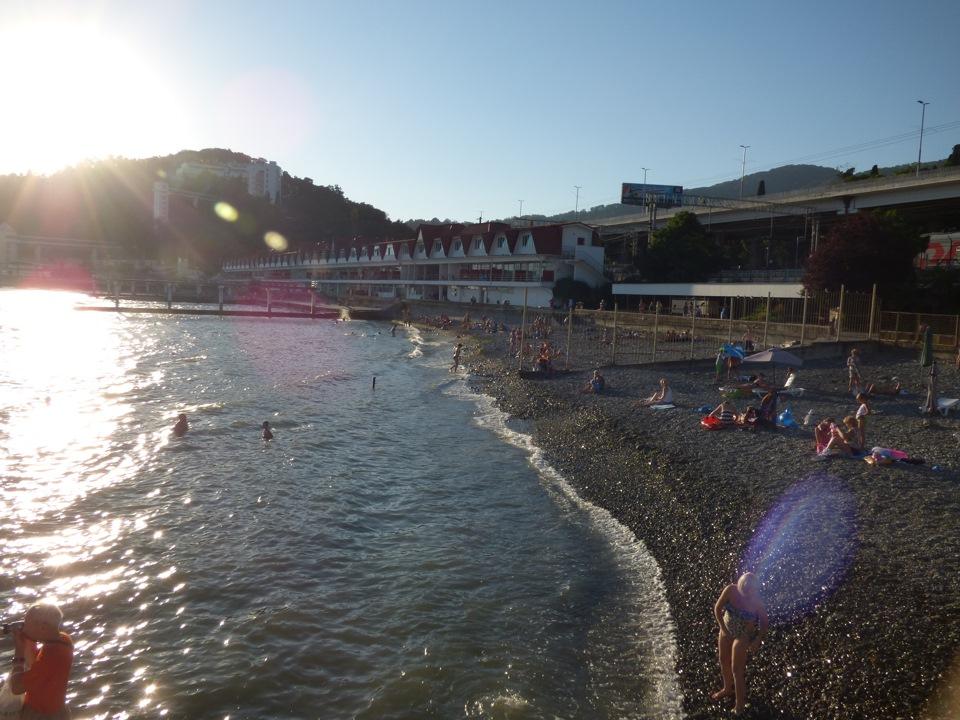 пляжи в хосте солнечный фото красивый