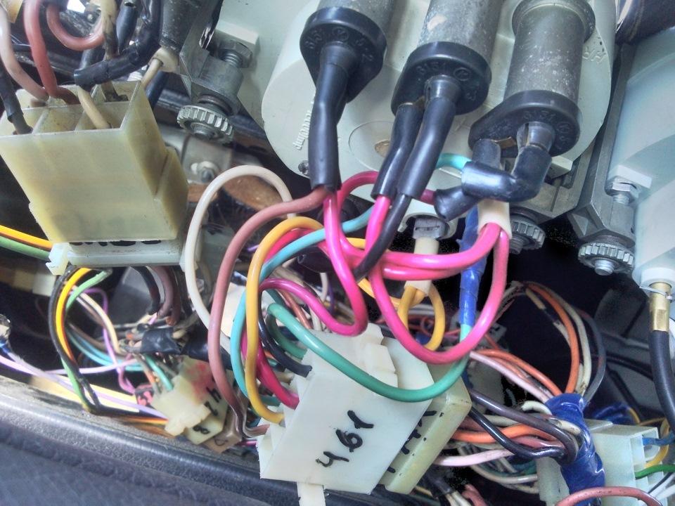 Схема подключения лампы акб в
