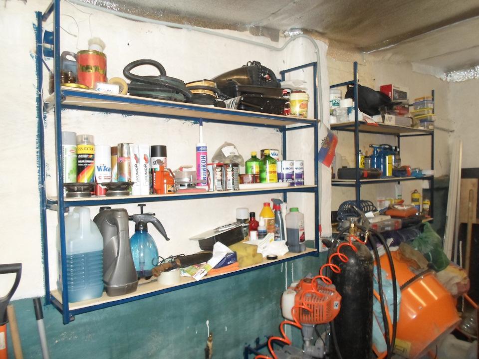 Оборудовать гараж своим руками 17