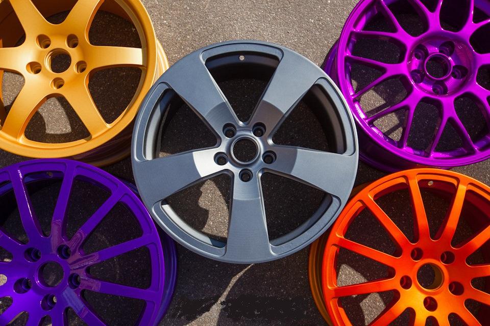 большой выбор красивая покраска дисков фото резьба