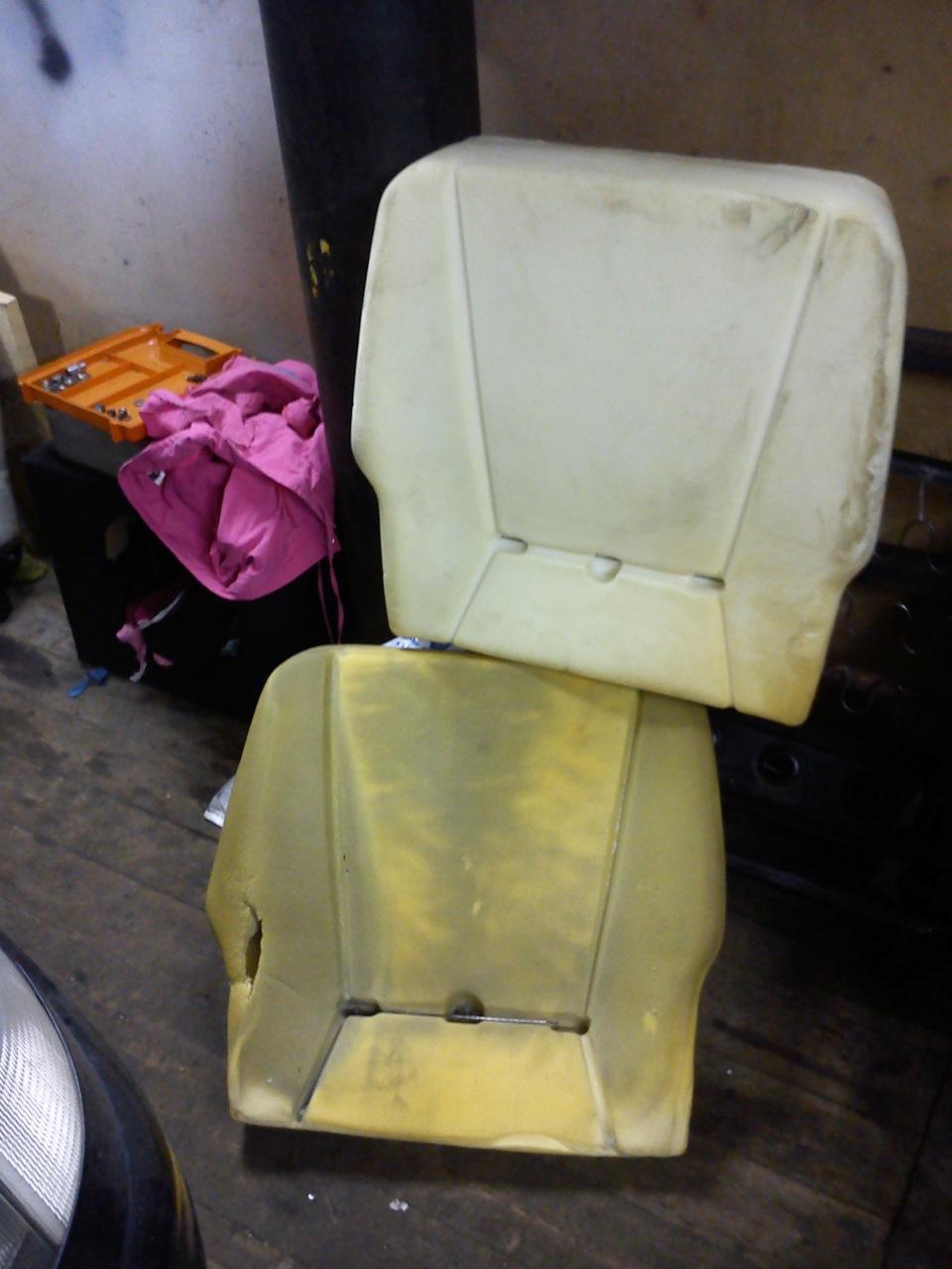 Ремонт сидений на ваз 2107 своими руками