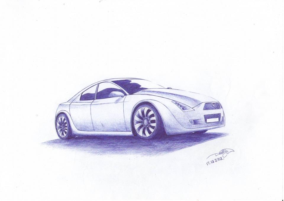 концепт кары рисунки