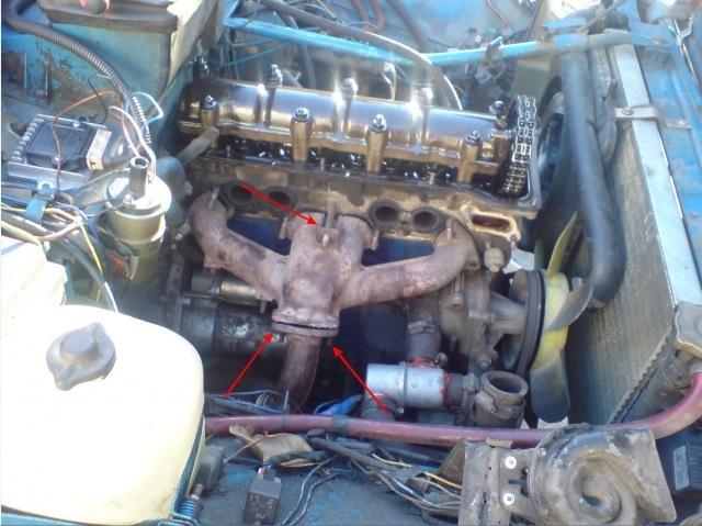 Начал разбирать двигатель