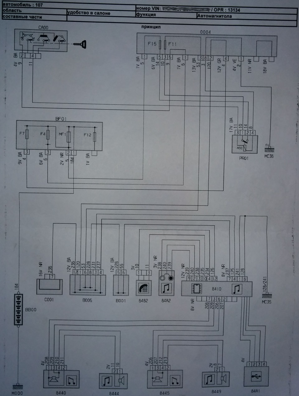 Peugeot 107 Connection Head Unit Pioneer Deh2028zc From Restayl Drive2 Wiring Schematics So First Thing In The Diagram Recorder Comments Thank You Comrade With Forum For It