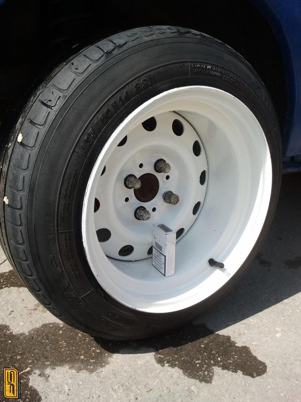 Расширение колесных дисков