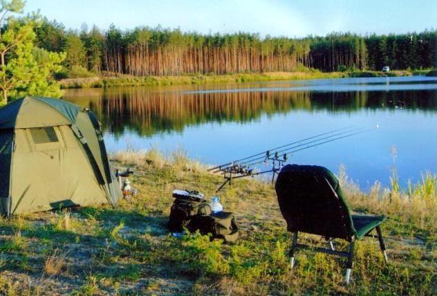 Рыбалка палатки отдых видео
