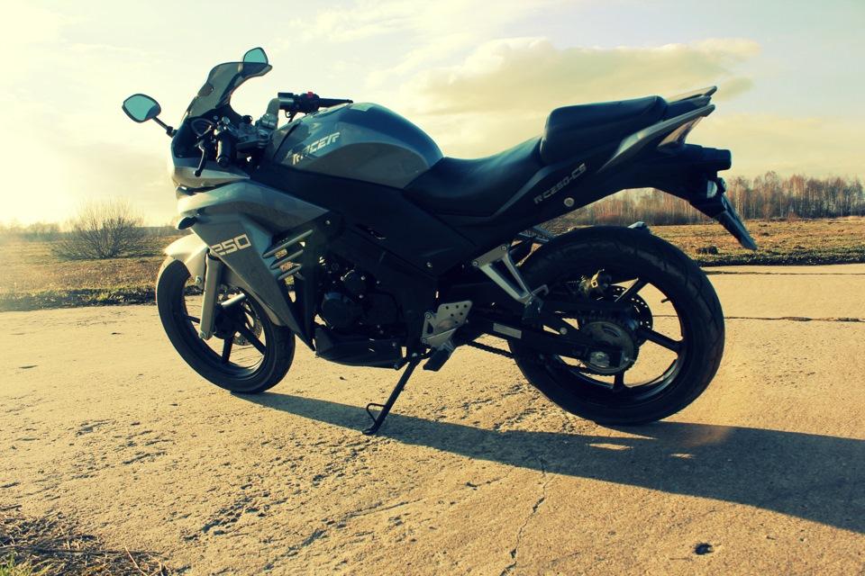 Женская жопа на мотоцикле