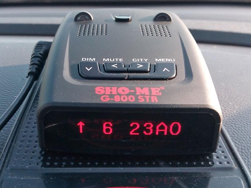 Радар детектор sho me g 800str