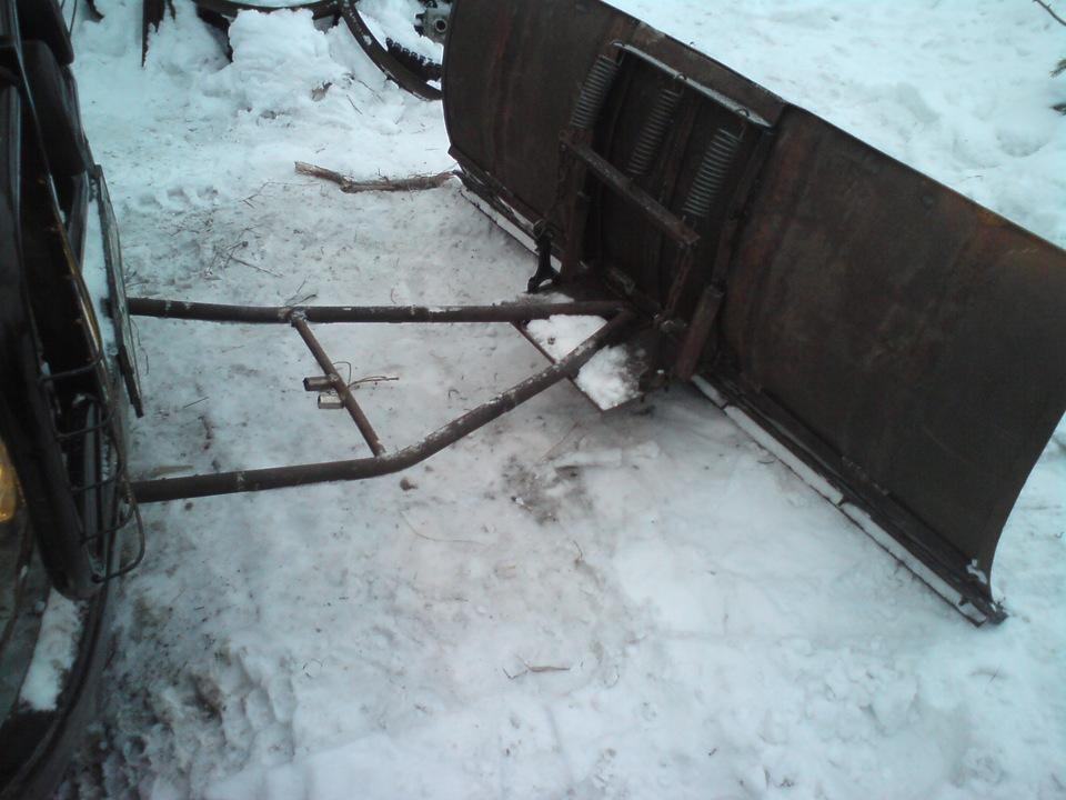 Отвал для снега для уаз