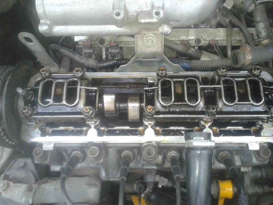 Фото №28 - замена прокладки крышки клапанов ВАЗ 2110