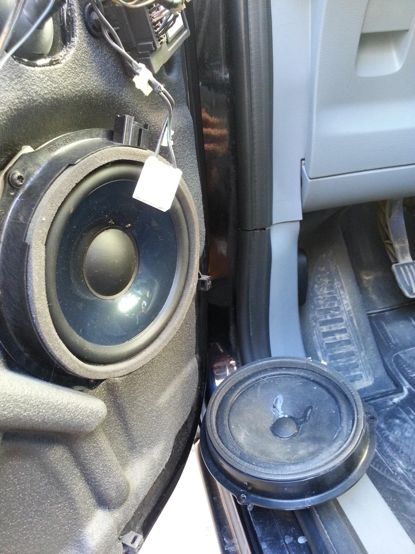 динамики в дверях ford s-max