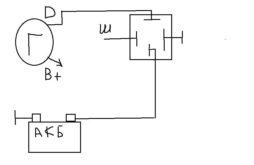 генератор от ВАЗ 2110(2),