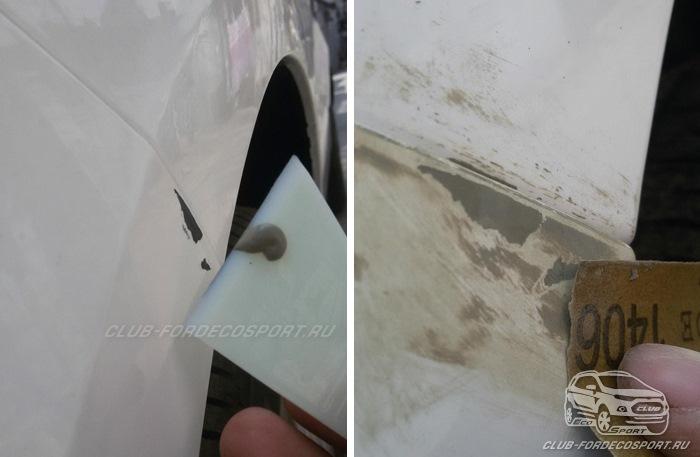 Какие царапины на авто можно заполировать фото