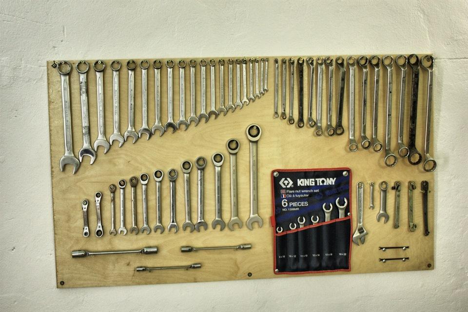 Стенды для инструмента своими руками