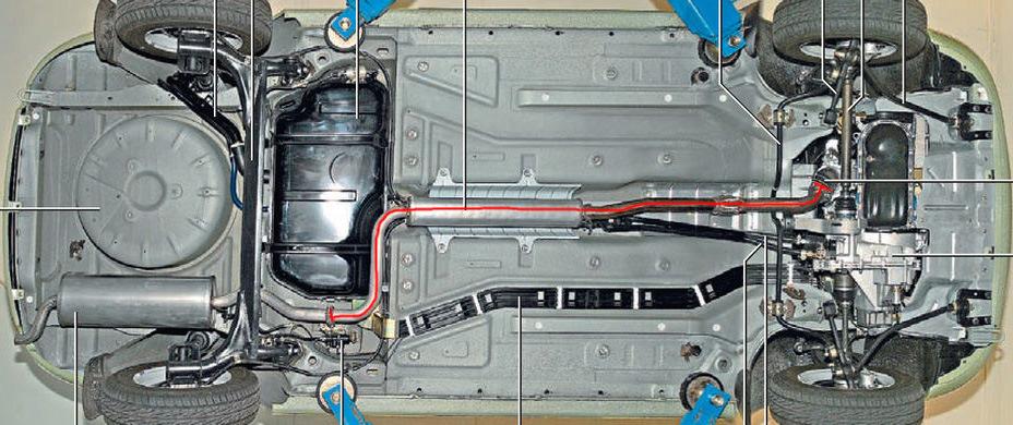 Газораспределительный механизм автомобиля Fiat Albea