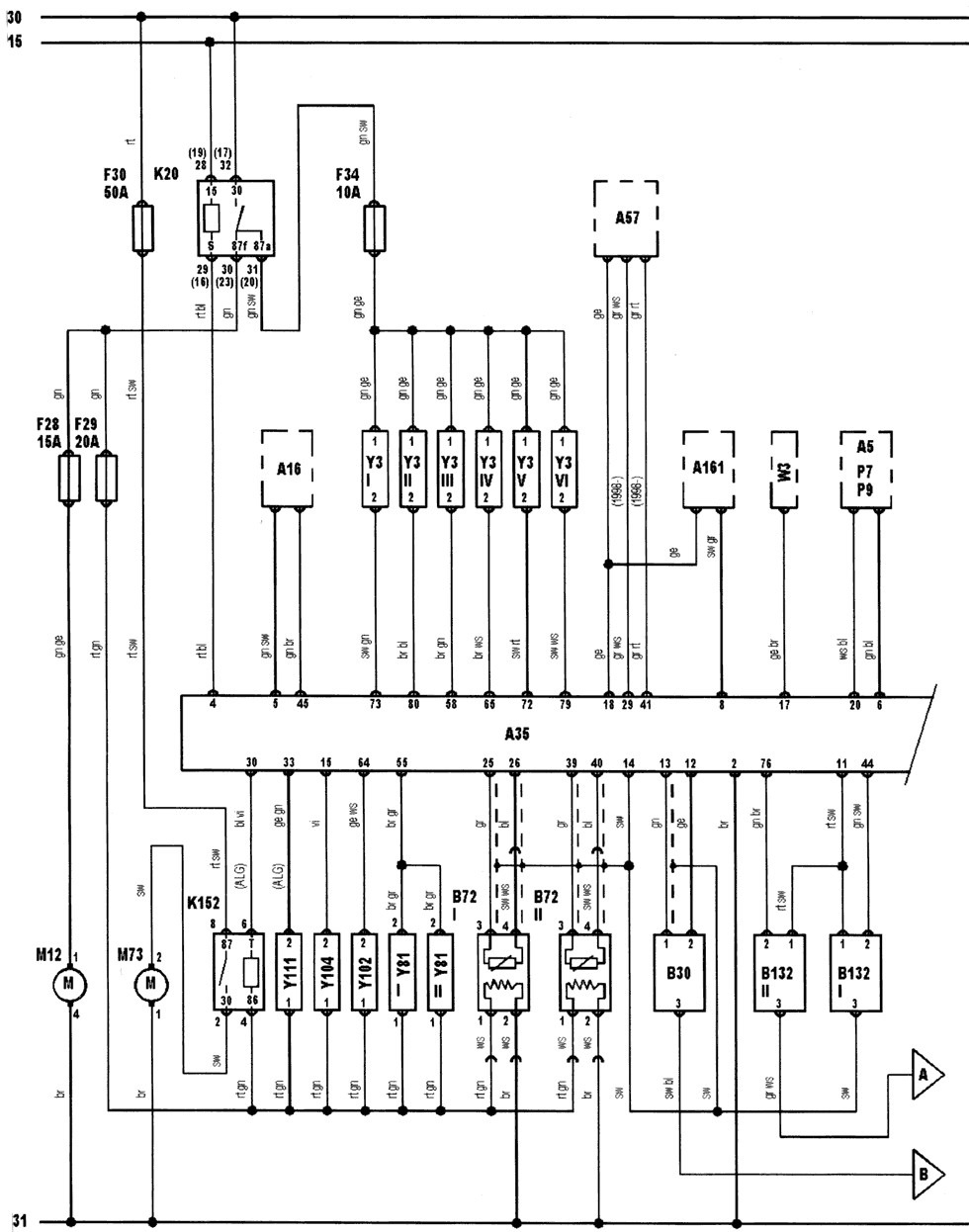motor audi 4b0907557a bosch motronic m3 8 2 0261204256