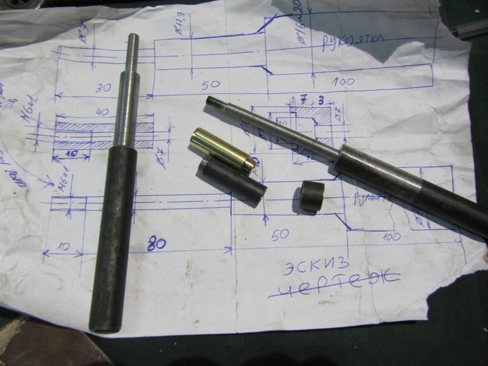 Фото №21 - замена направляющих втулок клапанов ВАЗ 2110