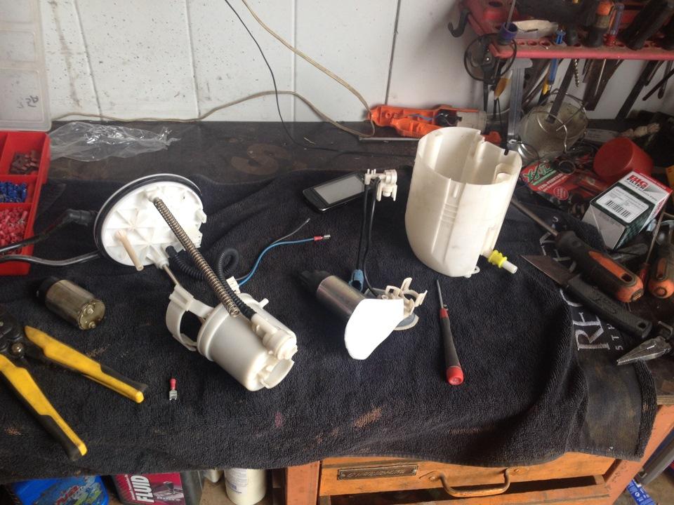 Замена топливного фильтра на гранд витара своими руками