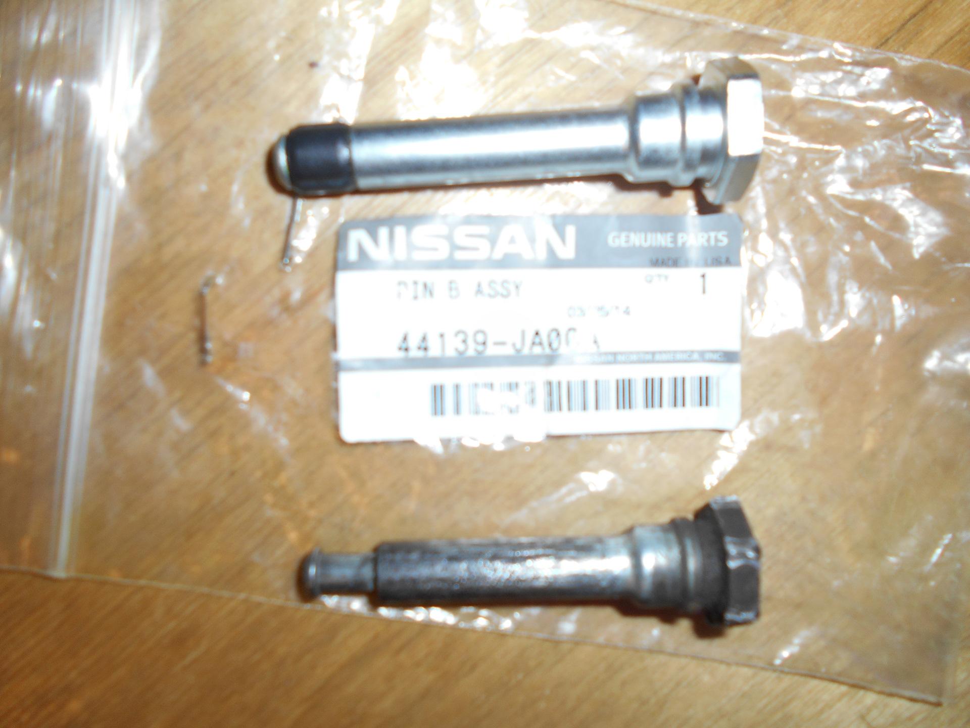 направляющий заднего суппорта nissan almera размер