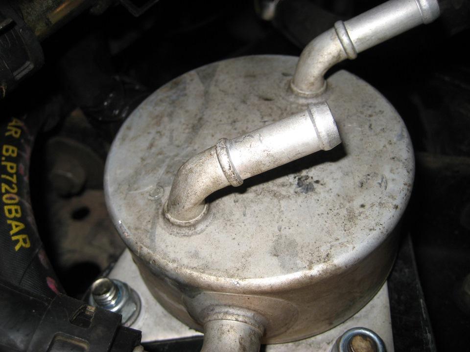 Теплообменник в радиаторе для акпп Кожухотрубный маслоотделитель ONDA OVS 470/2 Владивосток