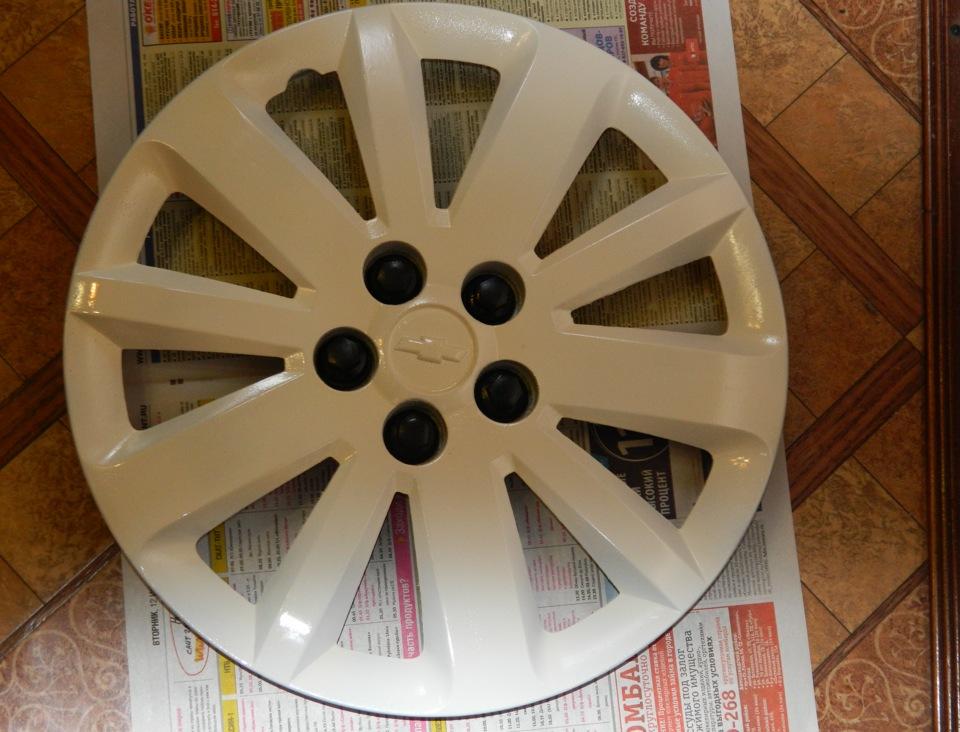 Как покрасить колесные колпаки своими руками 11