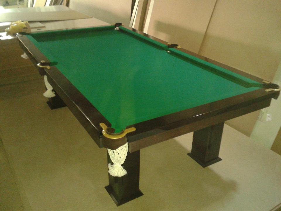 Как сделать стол для бильярд 152