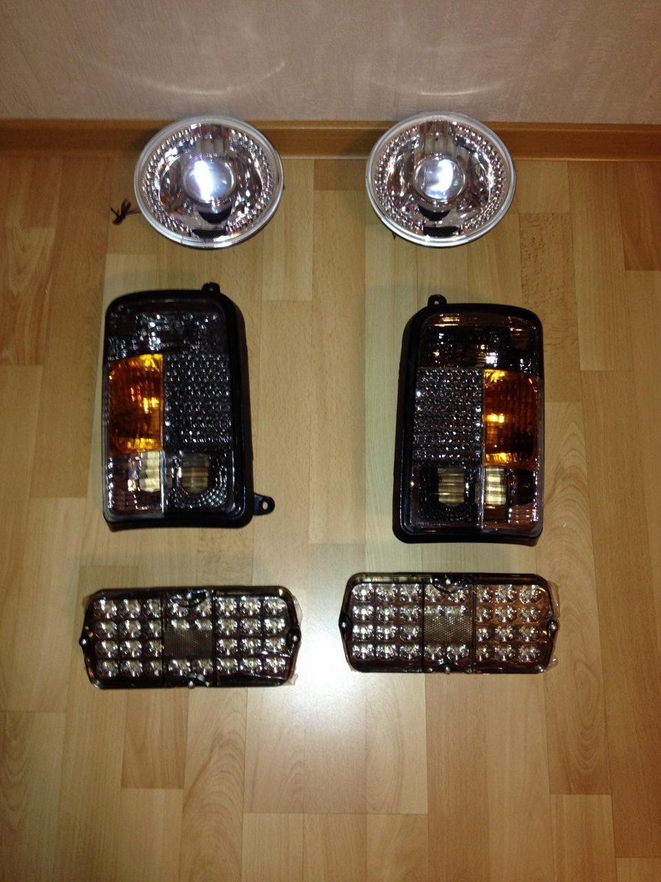 Светодиодный мощный фонарь изготовленный 60