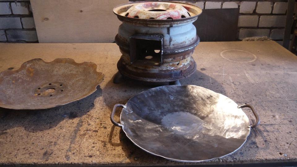 Как делать сковородку своими руками