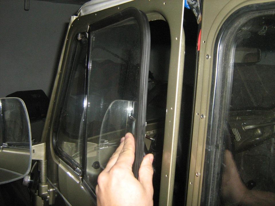 Замена лобового стекла на уаз своими руками 58