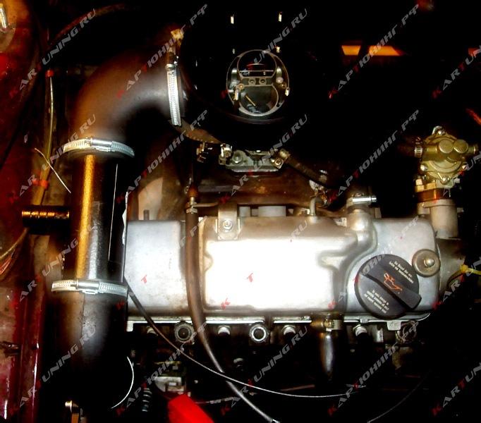 Ваз 2109 компрессор на карбюратор своими руками