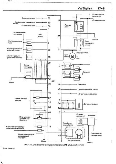 the electroscheme the engine management system bosch digifant audi Wiring Harness Diagram