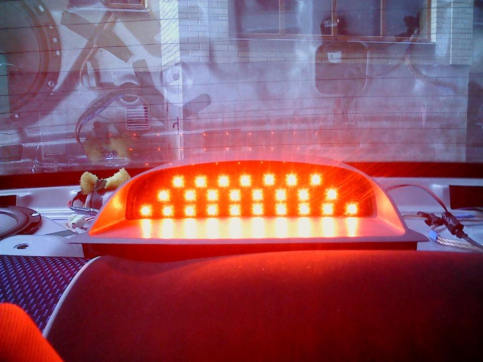 Светодиодный дополнительный стоп своими руками 504