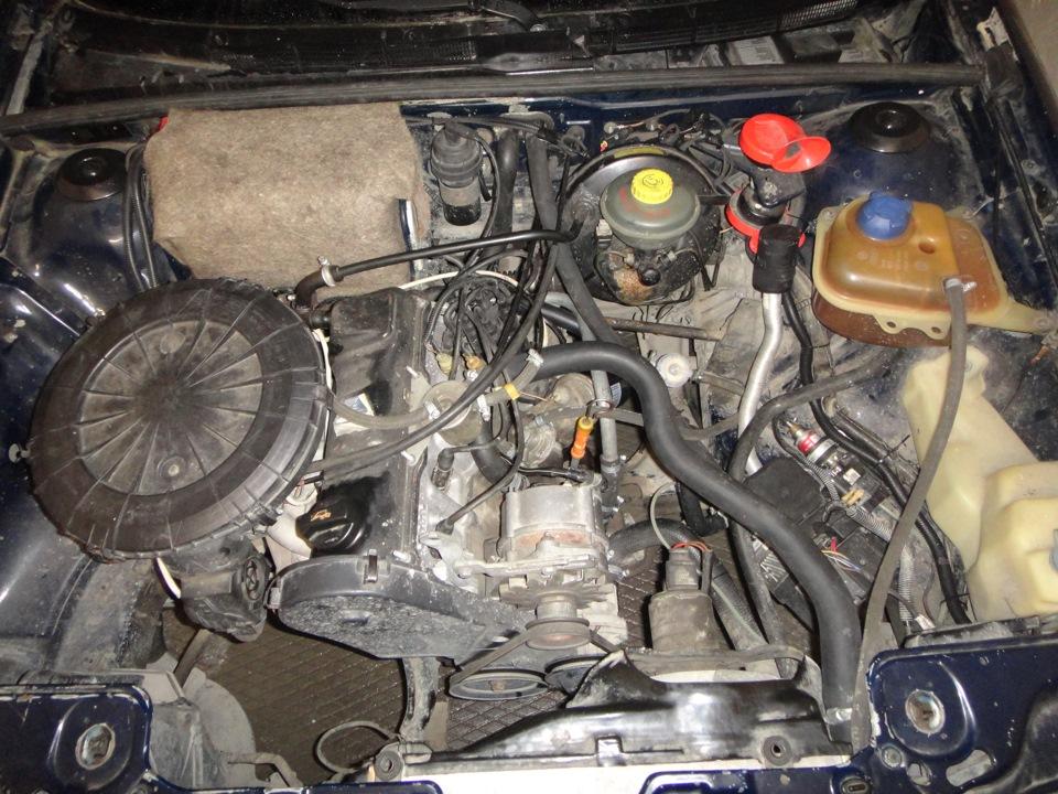 Ауди подогрев двигателя