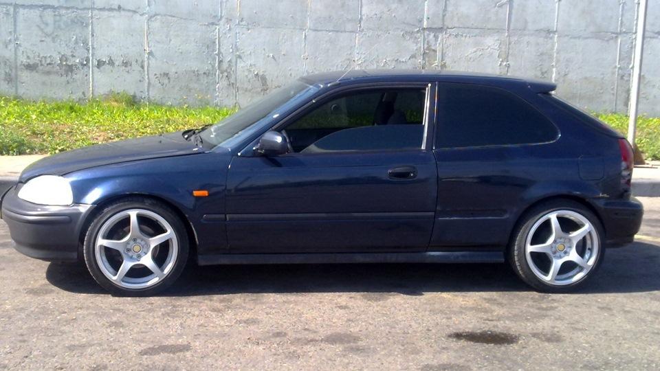 устройство honda civic 98 hatchback