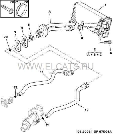 Peugeot 308 Bedradings Schema