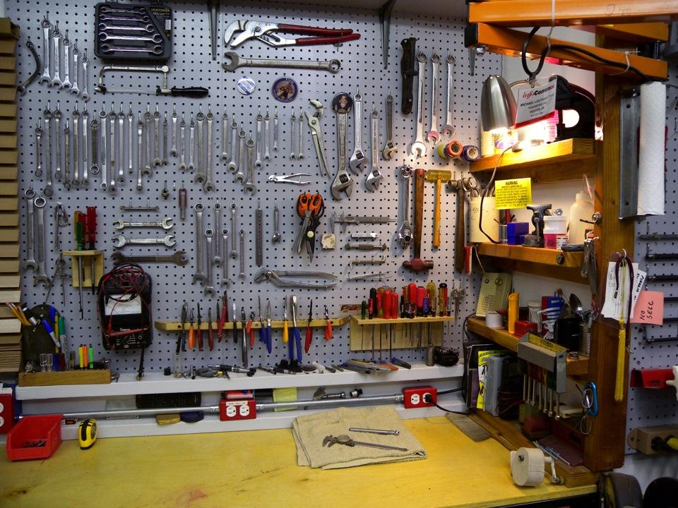 Ремонт в гараже